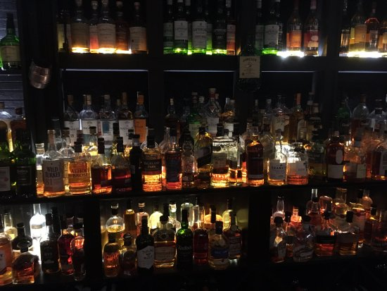 Chesterfield, MO: unbelievable selection of whiskey!!