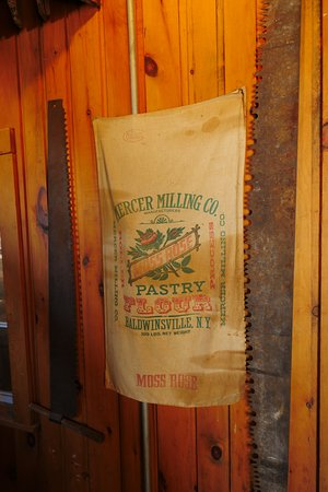 Bowmanville, Canada: More tools and flour sacks.