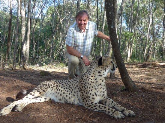 The Crags, Republika Południowej Afryki: Yes I was a bit scared!