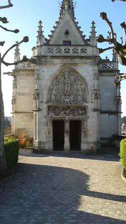Amboise, Fransa: chapelle de St Hubert