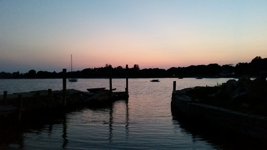 Stonington, CT: sunset