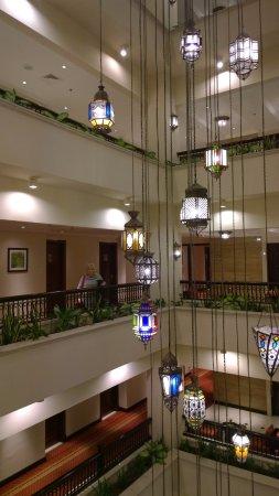 Decorative Lighting Picture Of Ajman Hotel Tripadvisor