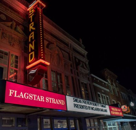 The Flagstar Strand Theatre in Downtown Pontiac