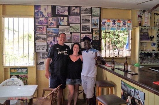 Saint Michael Parish, Barbados: Sam the man.