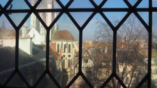 Ducal Palace: Vue du musée sur la ville