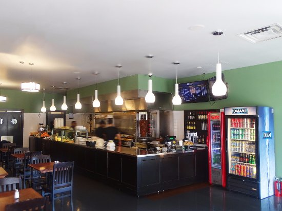 Thornhill, Canada: Entrench to the restaurant