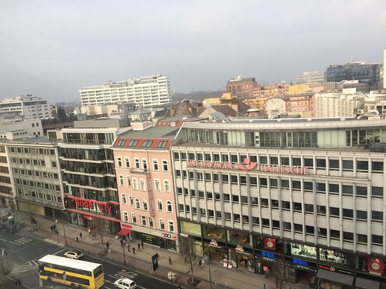 LeBuffet Berlin KaDeWe: Вид на город
