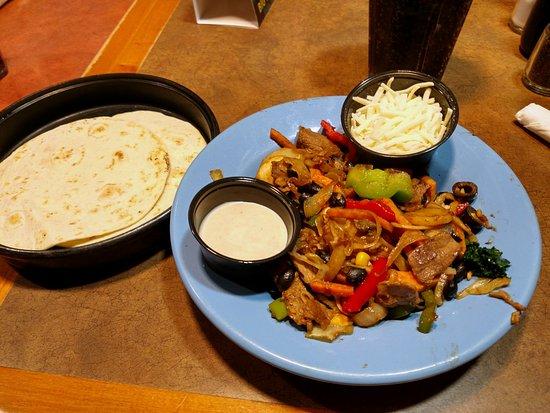 Mongo's Grill : Mongolian taco fixings. Delish!