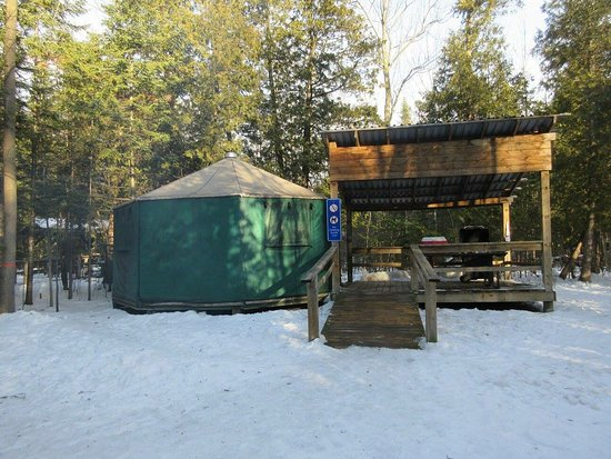 Port Elgin, Canadá: February 2017 winter yurt camping