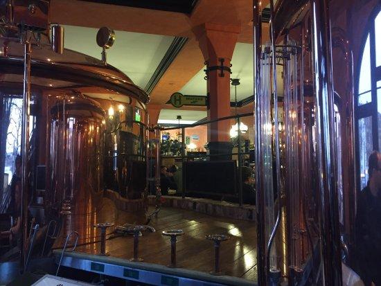 Hausbräu im Ballhaus Watzke: Brauereiführung