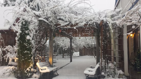 Husum, WA: Winter at the B&B