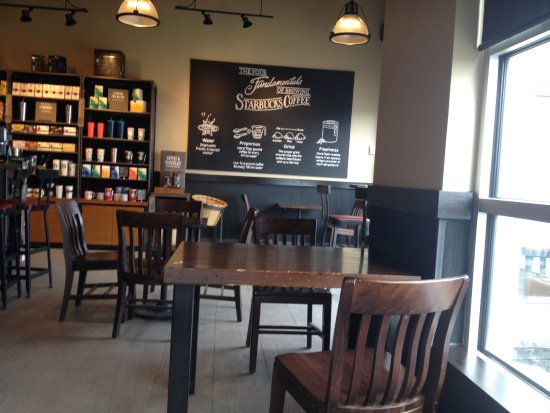 Strathmore, Alberta - Starbucks interior 1