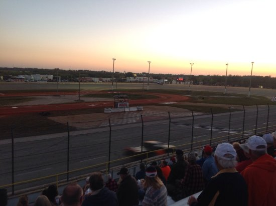 Punta Gorda Speedway: Beautiful February evening at the track