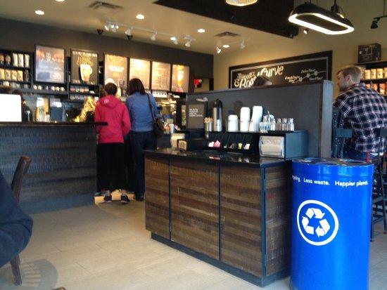 Strathmore, Alberta - Starbucks interior 2