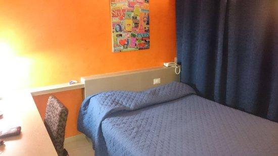 Altopascio, Italia: Camera con letto ad una piazza e mezza (prima camera assegnata)
