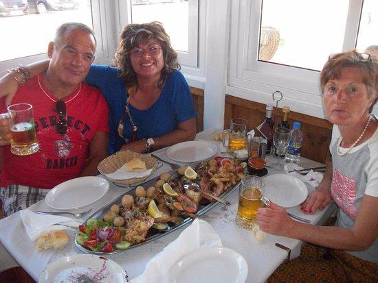 Gran Tarajal, Ισπανία: Buon appetito a tutti!