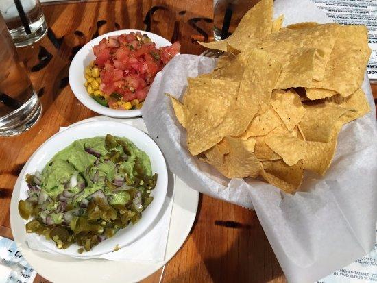 Blacksburg, VA: Chips and guac
