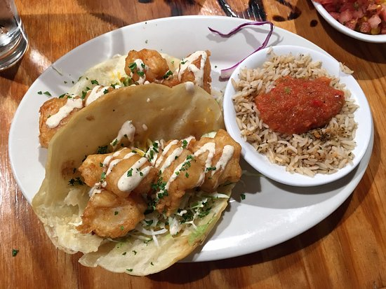 Blacksburg, VA: Shrimp tacos