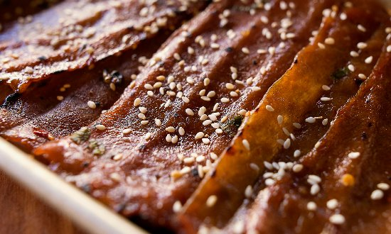 Bothell, WA: Kalbi Pork Meat candy