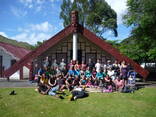 Whanganui, New Zealand: University Students at Koriniti Marae