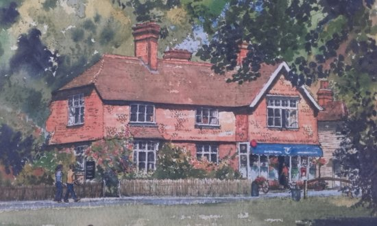 Dorking, UK: Abinger Hammer Village Shop & Tea Rooms