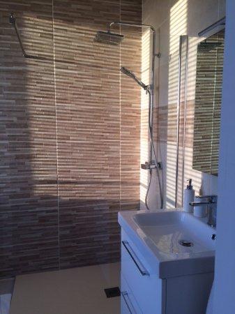 Les Bertinieres: Salle de bain propreté irréprochable