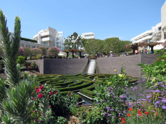 Центр Гетти: jardim