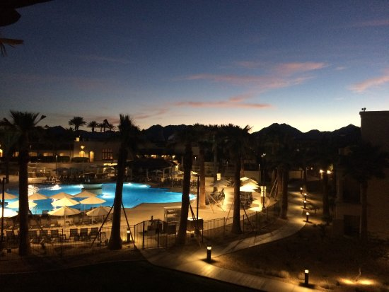 Fairmont Scottsdale Princess View From Our Room In The Sunset Beach Wing