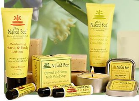 West Branch, MI: The Naked Bee organic products