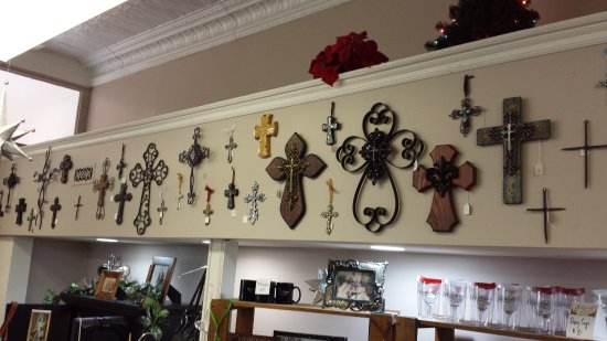 West Branch, MI: A wide variety of decorative crosses