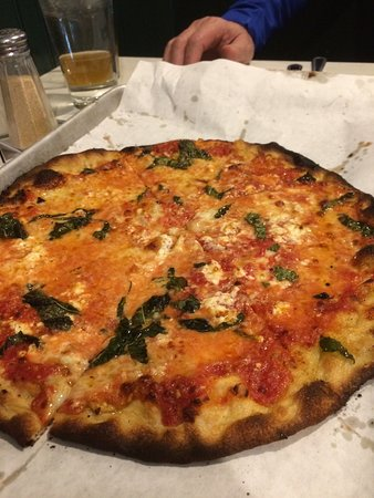 Newton, MA: Four cheese Quattro Formaggio.