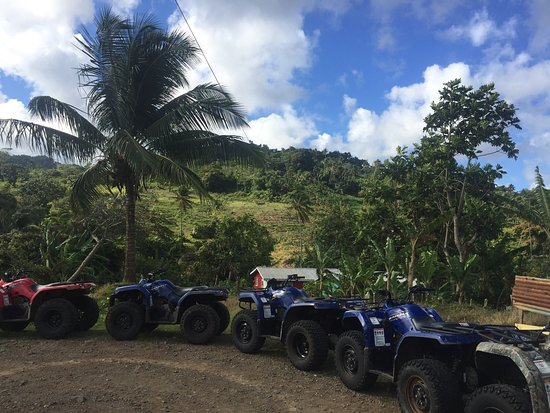 Gros Islet, Sta. Lucía: Aanansi ATV Tours
