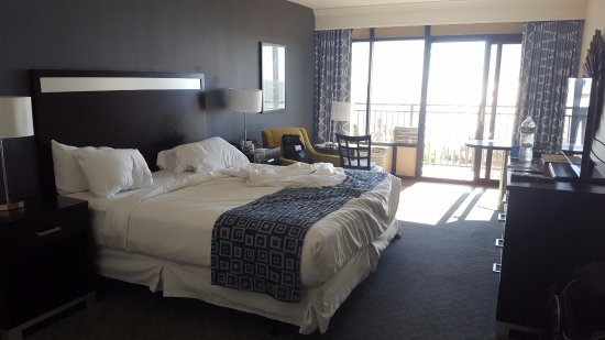 Doubletree Resort By Hilton Myrtle Beach Oceanfront King Size Room
