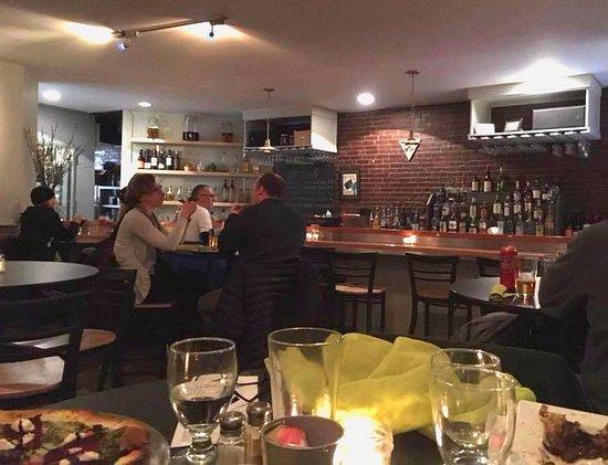Belfast, ME: Diner's view