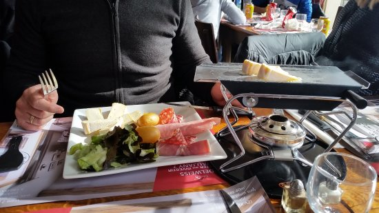 Vaujany, France: Raclette