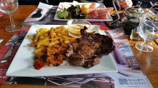 Vaujany, France: Entrecote