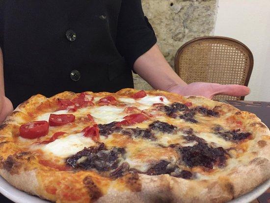 Il Mirto e la Rosa: Pizza Guaguin e Kandisky