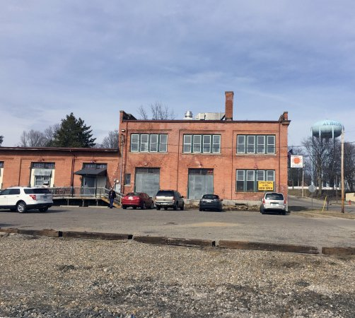Gina's Pizza & Deli is now located at the old freight depot at 301 N. Clinton Street, Albion Mic