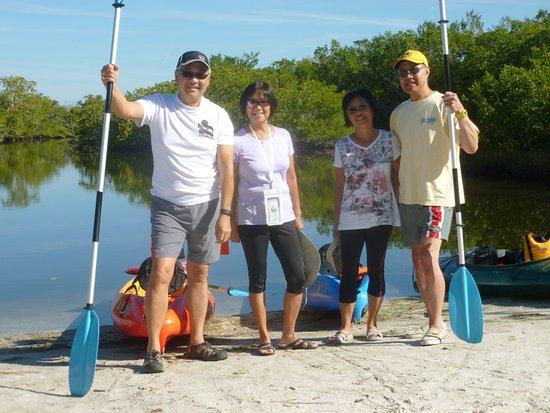 Cortez, FL: snowbirds enjoying the mangroves and birds