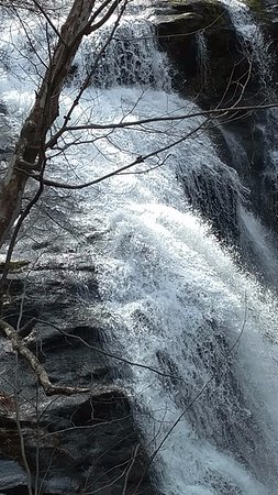 Tellico Plains, TN: Bald River Falls in Winter