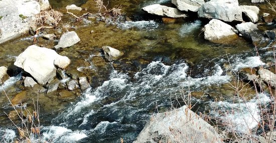 Tellico Plains, TN: Bald River in Winter