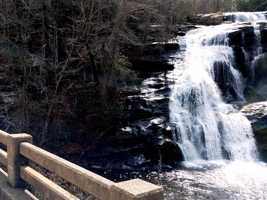 Tellico Plains, Теннесси: Bald River Falls in Winter