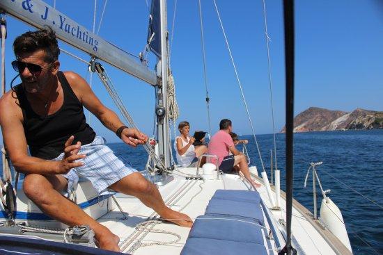 Adamas, Greece: Captain Panos