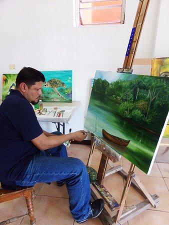 Waiku Arte y Diseno: taller de pintura
