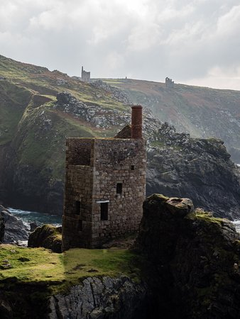 Botallack, UK: looking back from the counting house