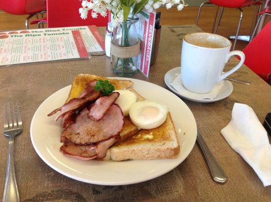 Albury, Avustralya: Best value for money bacon and eggs and fabulous coffee.
