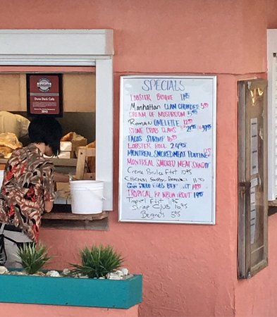 Lantana, فلوريدا: Dune Deck Cafe