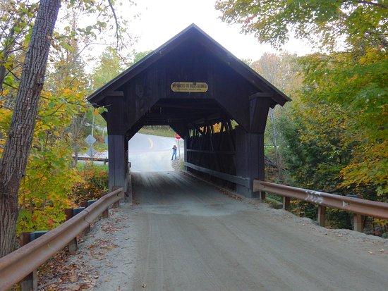 Gold Brook Covered Bridge (Emily's Covered Bridge) : wood covered bridge