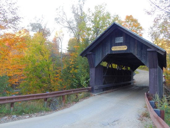 ‪Gold Brook Covered Bridge (Emily's Covered Bridge)‬
