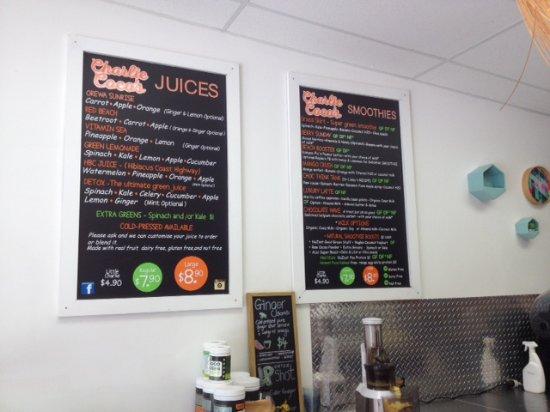 Orewa, Νέα Ζηλανδία: Vegan juices and smoothies